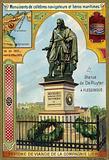 Statue of Michiel de Ruyter, Dutch admiral, Flushing, Netherlands