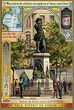 Statue of Niels Juel, Dano-Norwegian admiral, Copenhagen