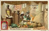 Kitchen of an African king
