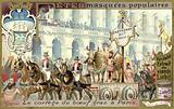 Procession of the fatted bull on Shrove Tuesday, Paris