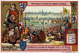 Blessing of the Flemish army before the Battle of Courtrai, 1302