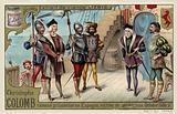 Christopher Columbus taken back to Spain as a prisoner, October 1500