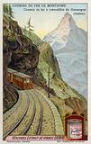 Gornergrat rack and pinion railway, Switzerland