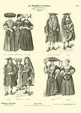 Costumes of Strasbourg, 17th Century