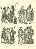 Ancient Germanic costumes