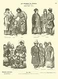 Costumes of the Russian Far East, 19th Century