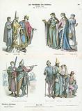 German costumes, 12th Century