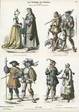 German costumes, early 16th Century