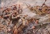 The defeat of the Prussian Guard at Zonnebeke