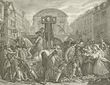 Daniel Defoe in the pillory, 1703
