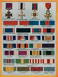 Famous orders, decorations and medals