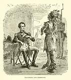 Tecumseh and Harrison