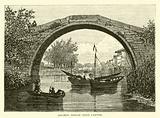 Ancient bridge near Canton