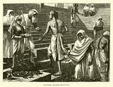 Bathing place, Benares