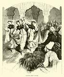 Nautch girls' dance