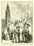 St Nicholas Church and Signal Tower, Liverpool