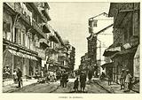 Street in Bombay
