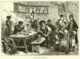 A Spanish tavern