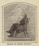 Statue of George Peabody