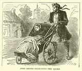 John Brown exercising the Queen