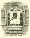 Sun-Dial in the Temple, London