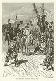 Napoleon's return from Elba