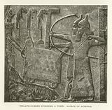 Tiglath-Pileser storming a town, Palace of Nineveh