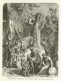 Charlemagne ordering the cutting down of the Sacred Oak