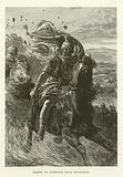 Flight of Pompeius from Pharsalia