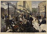 Fire at the Bazar de la Charite, Paris, 1897