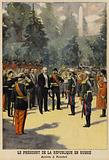 Visit of French President Felix Faure to Russia, 1897