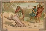 The death of St Barnabas