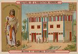 Egyptian house and costumes