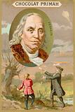 Benjamin Franklin, American scientist, inventor and politician