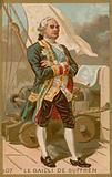 Pierre Andre de Suffren, French admiral