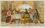 The banquet scene from Shakespeare's The Taming of the Shrew