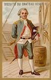 Jean-Francois de la Perouse, French naval officer and explorer