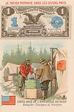 Banker and moneychanger, Klondike, Alaska, USA