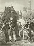 Surrender of Porus to the Emperor Alexander, 326 BC
