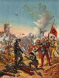 Capture of King Francis I of France at the Battle of Pavia, Italy, 1525