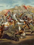 King Louis XII of France at the Battle of Agnadello, Italy, 1509