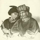 Hubert (1366-1426) and Jan van Eyck (1370-1441), Flemish artists