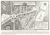 Proposals for a public square dedicated to the glory of Louis XVI of France, Paris, 1784