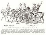A patrol of 'patriots', France, 1848