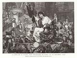 The Festival of Reason in Notre Dame de Paris, 10 November 1793
