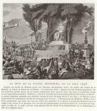 Festival of the Regeneration of Nature, Paris, 10 August 1793