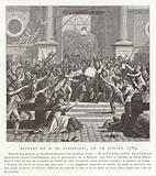 The murder of Jacques de Flesselles, French Revolution, 14 July 1789