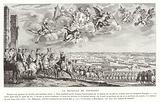 The Battle of Fontenoy, War of the Austrian Succession, 1745