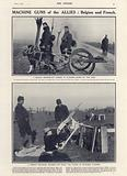 Machine guns of the Allies: Belgian and French, World War I
