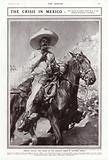 General Zapata, the leader of the agrarian rebels in Southern Mexico, 1913